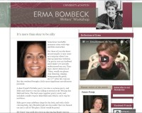 Erma Bombeck page